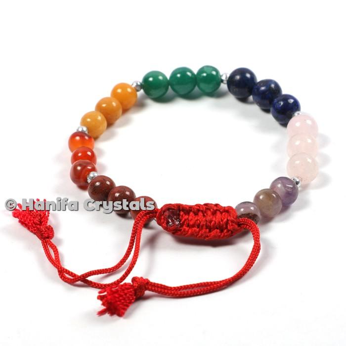 7 Chakra Stones Power Bracelet