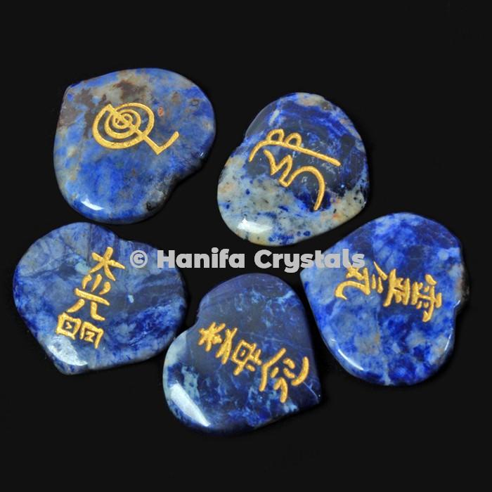 Lapis Lazuli Reiki Set