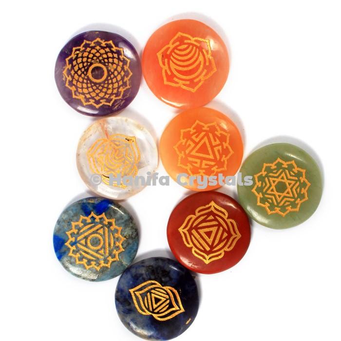7 Chakra Thymus Disc Set