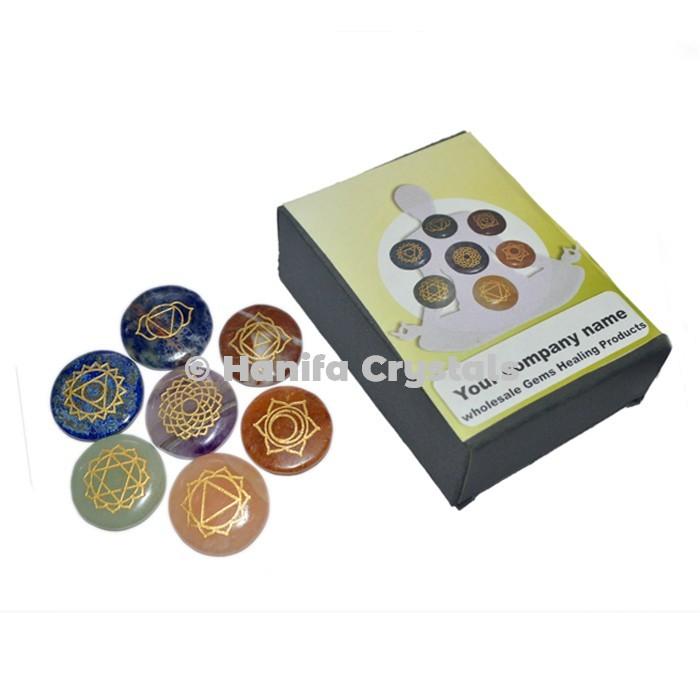 7 Chakra Disc Set With Box
