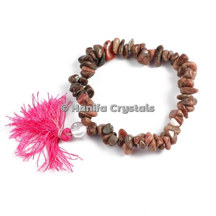 Rhodonite Stone Power Bracelets