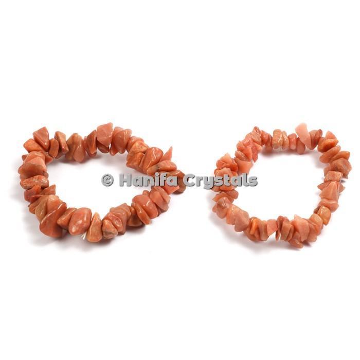 Peach Aventurine Bracelet