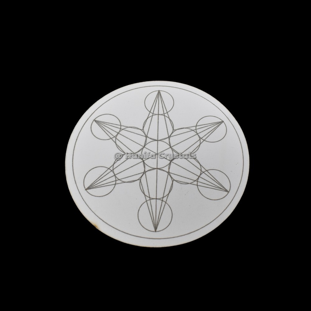 Engraved Star MDF Coaster And Grid