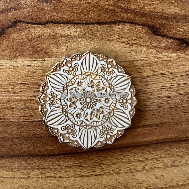 Mandala Engraved MDF Coaster