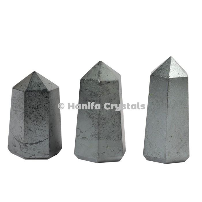 Hematite Pencil Point Obelisk