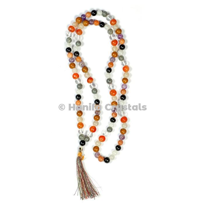 9 Planet Navratna Japa Mala Beads