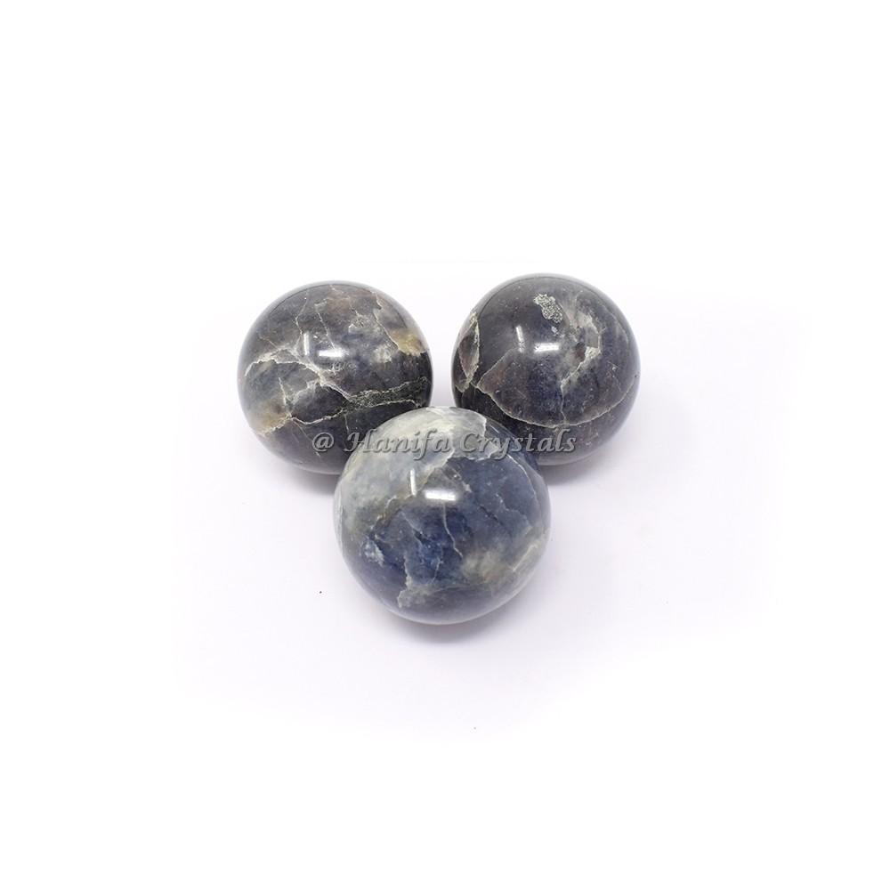 Iolite Spheres