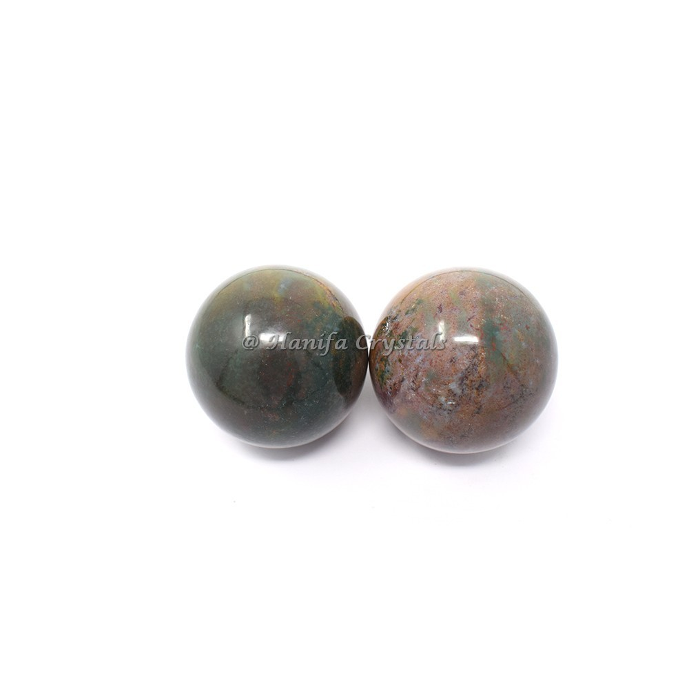 Indian Blood Stone Spheres