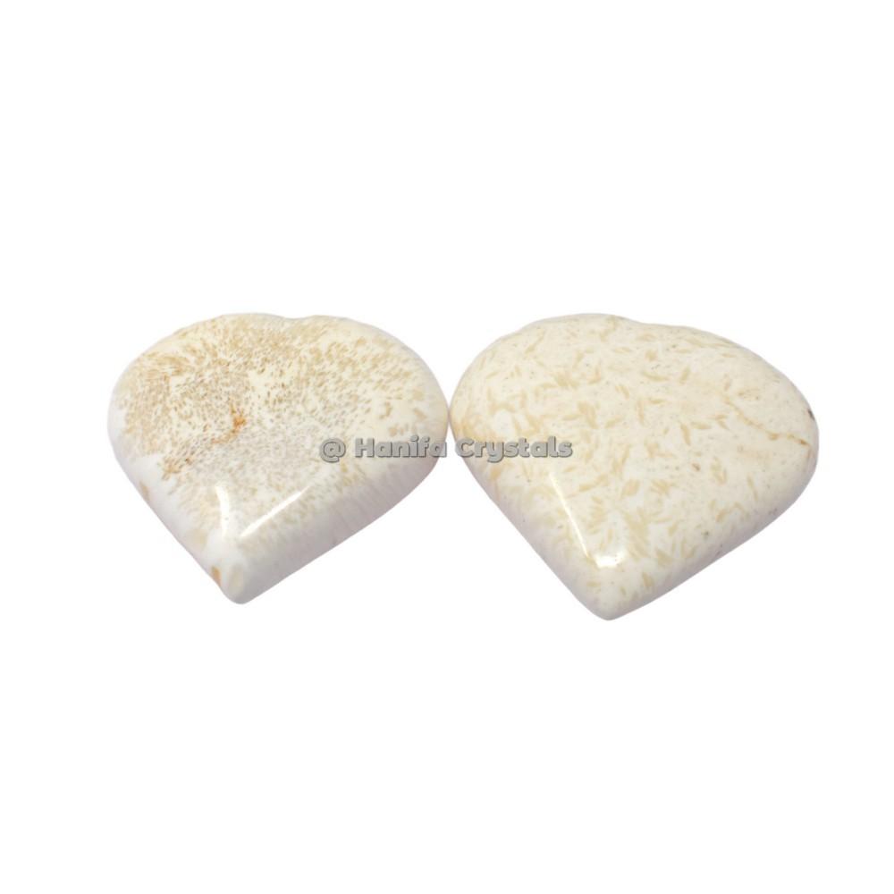 Scolecite Puffy Hearts