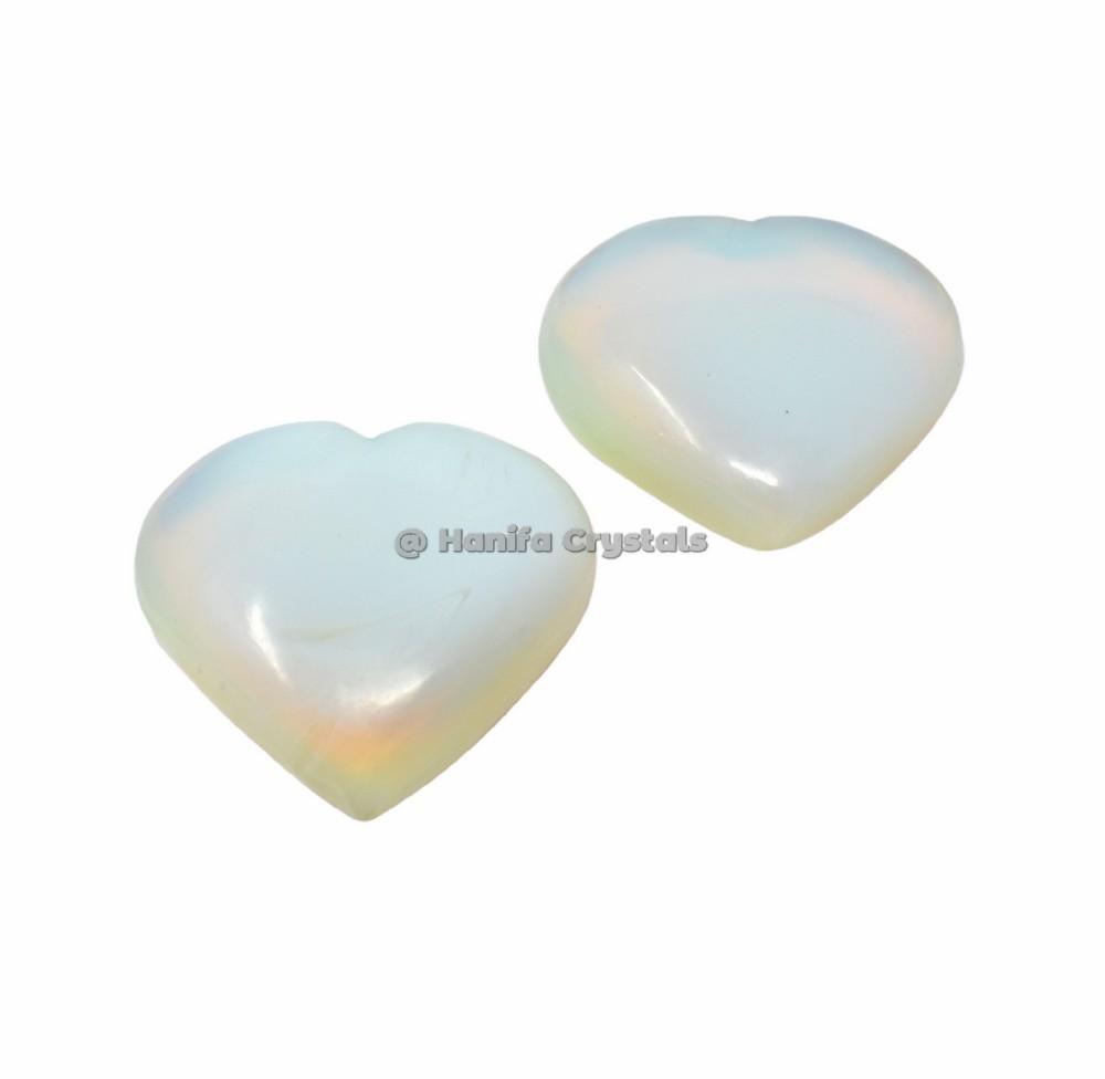Opalite Puffy Hearts
