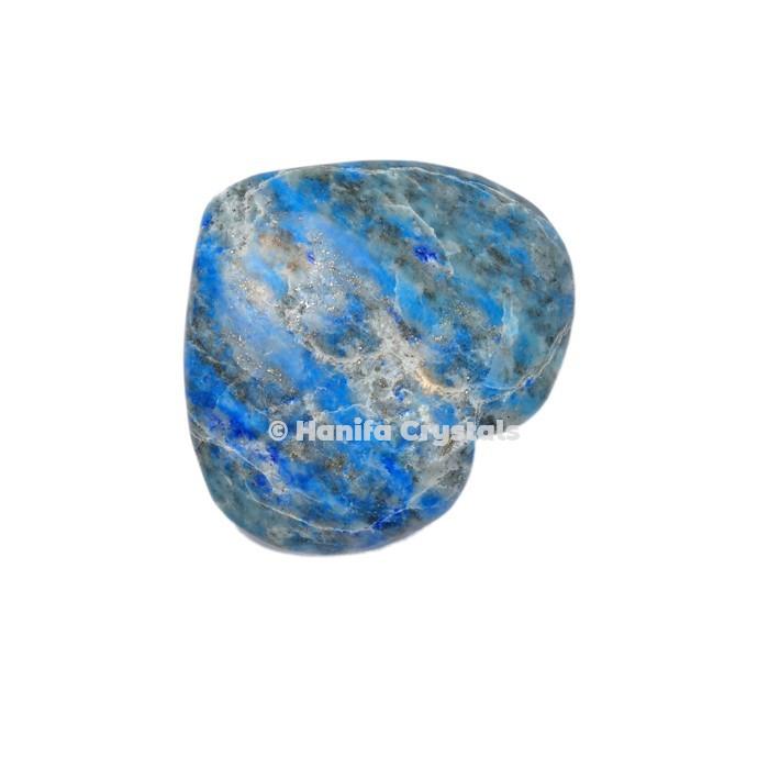 Lapis Lazuli Puffy Hearts