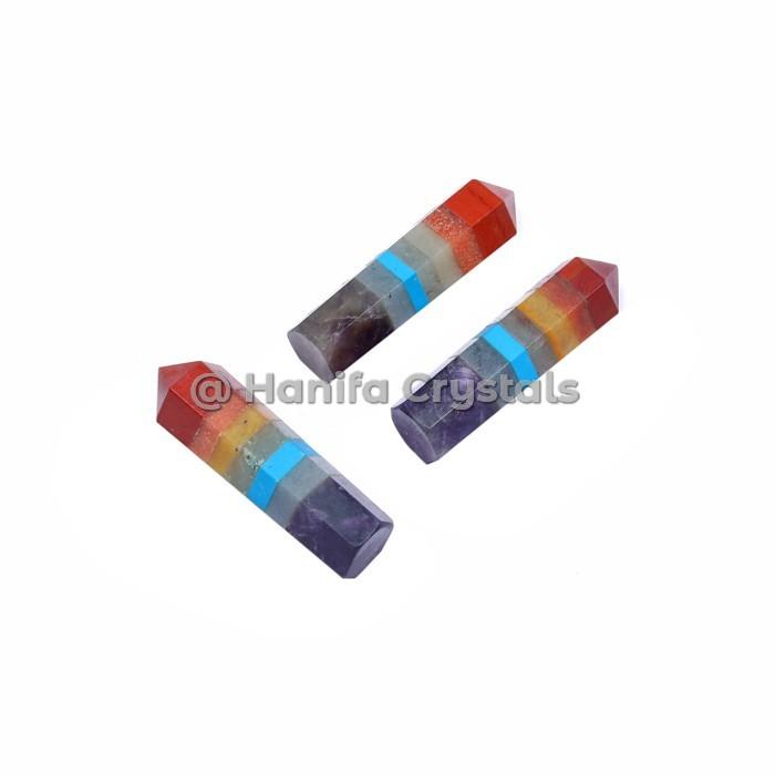 Seven Chakra Bonded Pencil Point