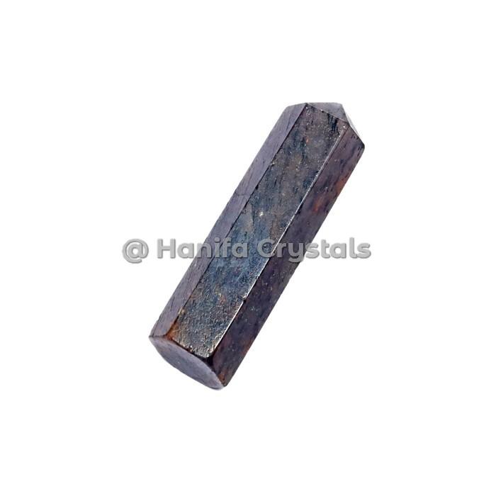 Black Tourmaline Terminated Pencil point