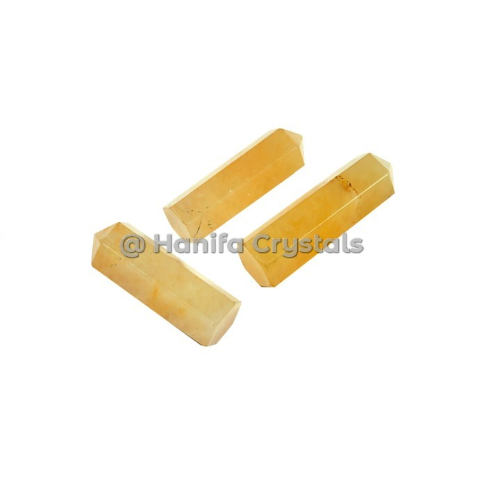 Yellow Aventurine Obelisk Pencil Points