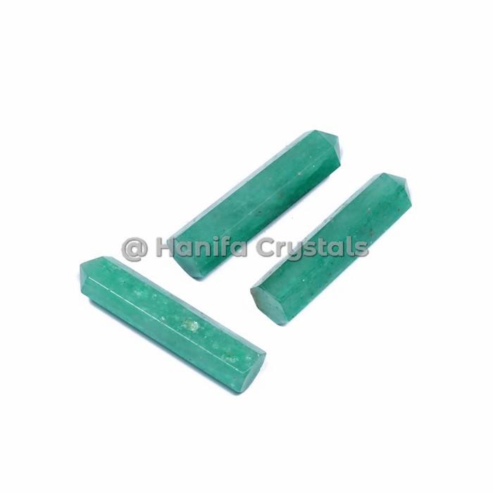 Green Aventurine Obelisk Pencil Points