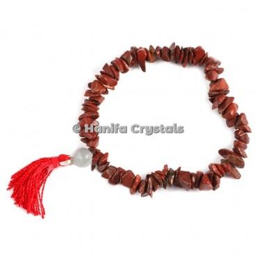 Red Jasper Power Chips Bracelet