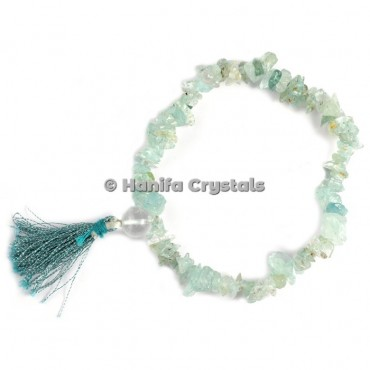 Green Flourite Chips Power Bracelet