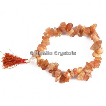 Golden Quartz Chips Power Bracelet