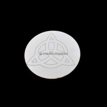 Celtic Engraved MDF Coaster And Grid