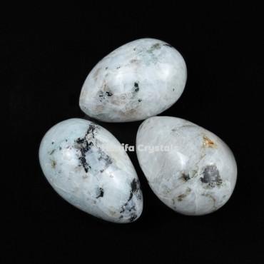 Rainbow Moonstone Eggs