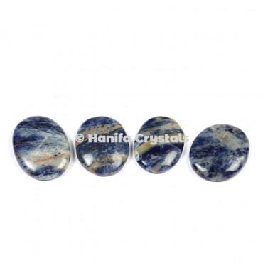 Sodalite Palm Stones