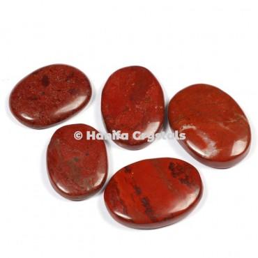 Red Jasper Palm Stones