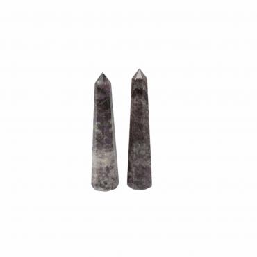 Grey Jasper Obelisk Point