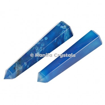 Blue Onyx Pencil Point Obelisk