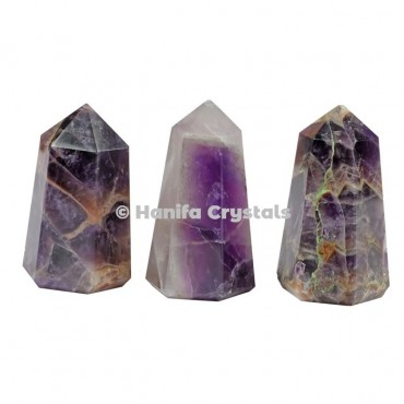 Amethyst Pencil Point Obelisk