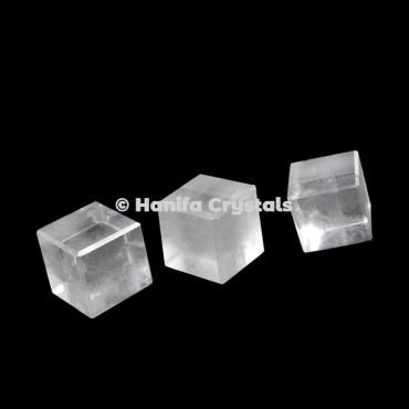 Crystal Quartz Cube