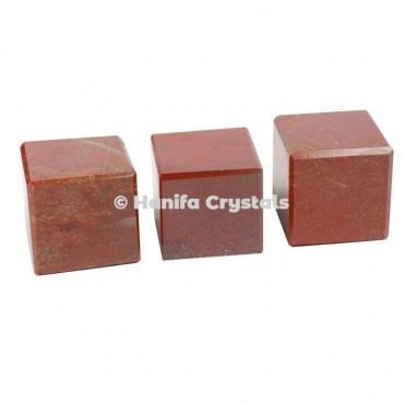 Red Jasper Cube