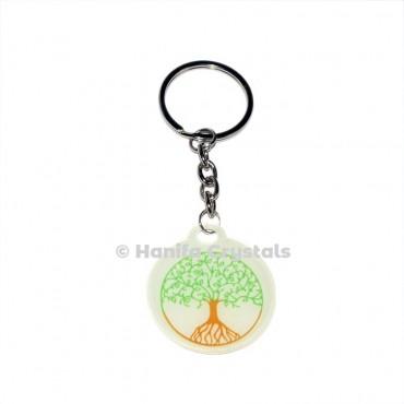 Healing Tree of life Keychain