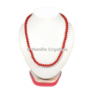 Carnelian Beads Necklace