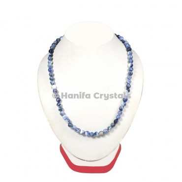 Sodalite Beads Necklace