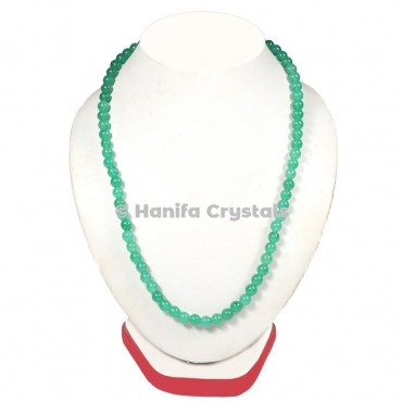 Green Aventurine Beads Necklace
