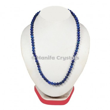 Lapis Beads Necklace