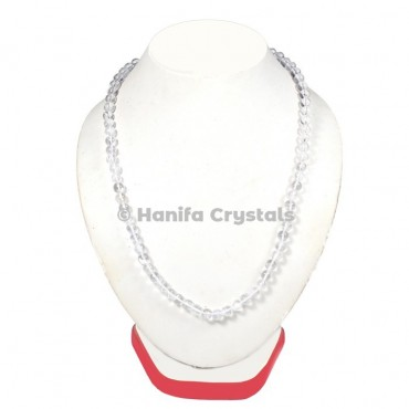Crystal Quartz Beads Necklace