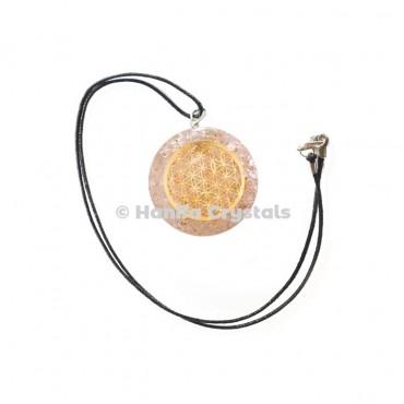 Seven Chakra Orgone Wire Wrap Energy Pendants