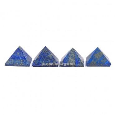Lapis Lazuli Gemstone Pyramids