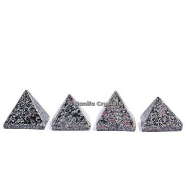 Snowflake Obsidian Gemstone Pyramids