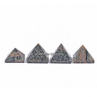 Dendritic Agate Gemstone Pyramids
