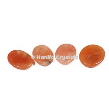 Peach Aventurine Worry Stones