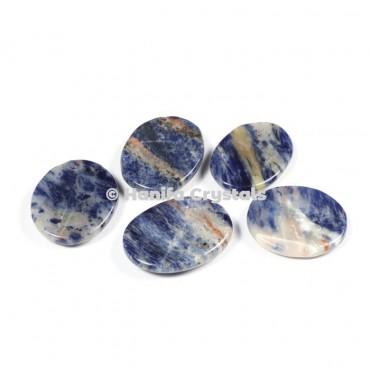 Sodalite Worry Stones