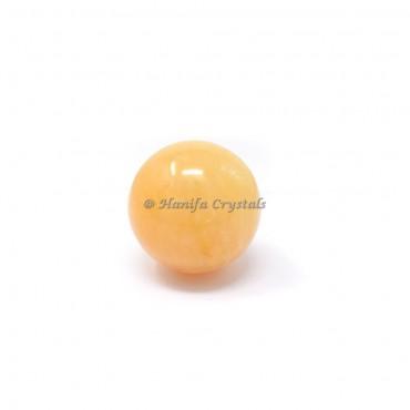 Light Golden Quartz Sphere