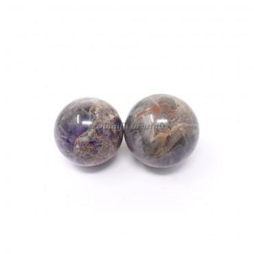 Banded Amethyst Sphere
