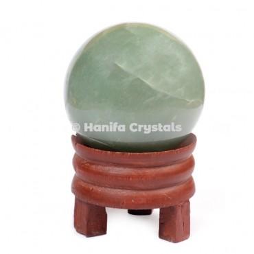 Green Aventurine Gemstone Sphere