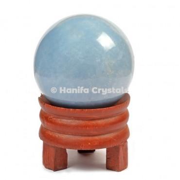 Angelite Gemstone Sphere