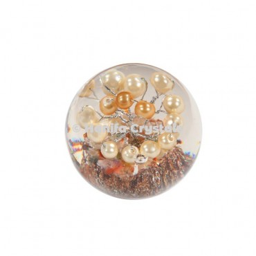 Pearls in Orgone Sphere