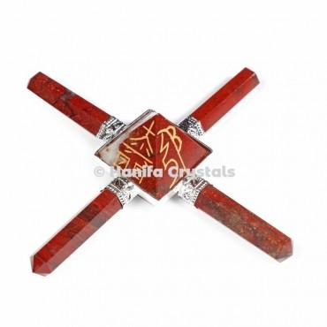 Red Jasper Usai Reiki Healing Energy Generator
