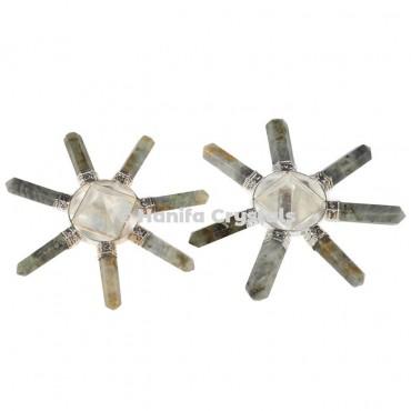 Labrodrite Seven Pencils Healing Energy Generator